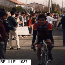 Cyclo cross OURSBELILLE 1987