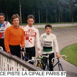 FRANCE PISTE 1987
