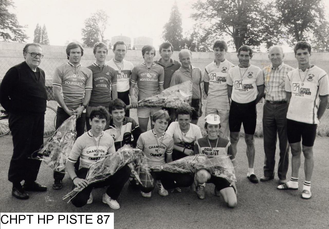 DEPARTEMENTAL PISTE 1987