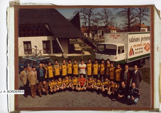 L'équipe de la JAB 1980