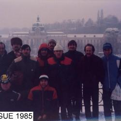 PRAGUE 85, - 25°, BRRRR......