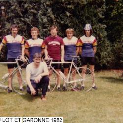TOUR DU LOT ET GARONNE 1982