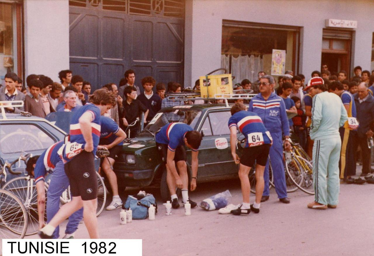 TOUR DE TUNISIE 1982