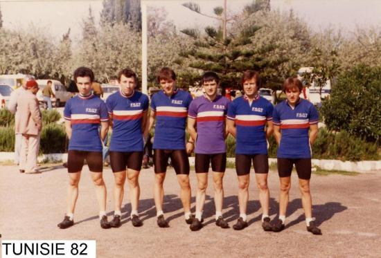 TOUR DE TUNISIE 1982
