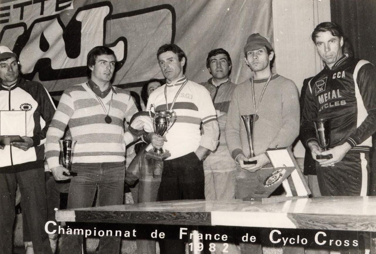 RECEPTION NATIONAL CYCLO CROSS 1982
