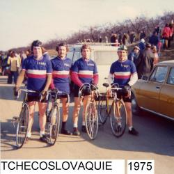 EQUIPE DE FRANCE TCHECOSLOVAQUIE