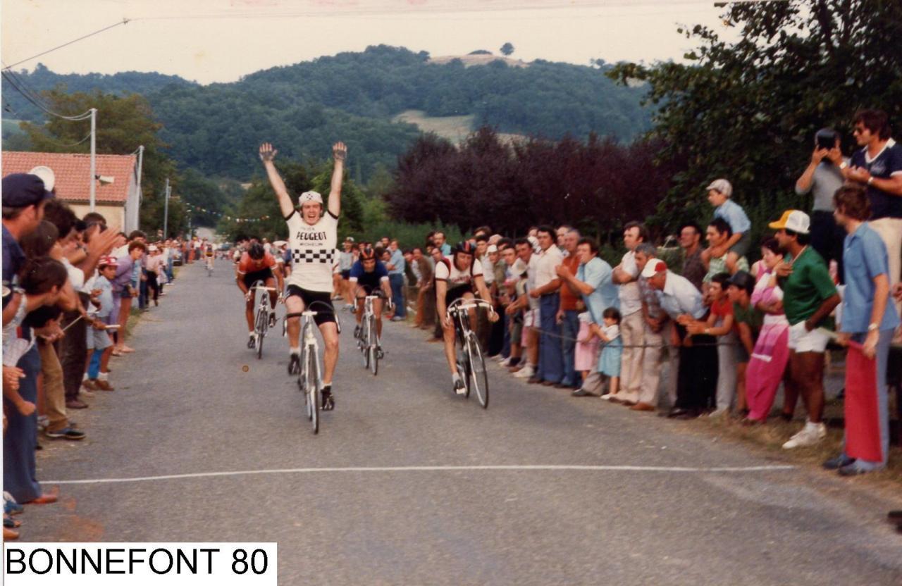 Le sprint de BONNEFONT 1980