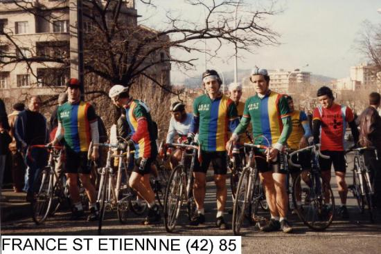 NATIONAL CYCLO CROSS ST ETIENNE 1985