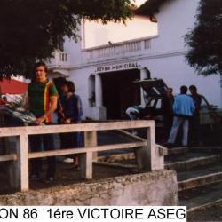 1ère VICTOIRE CLUB ASEG 1986