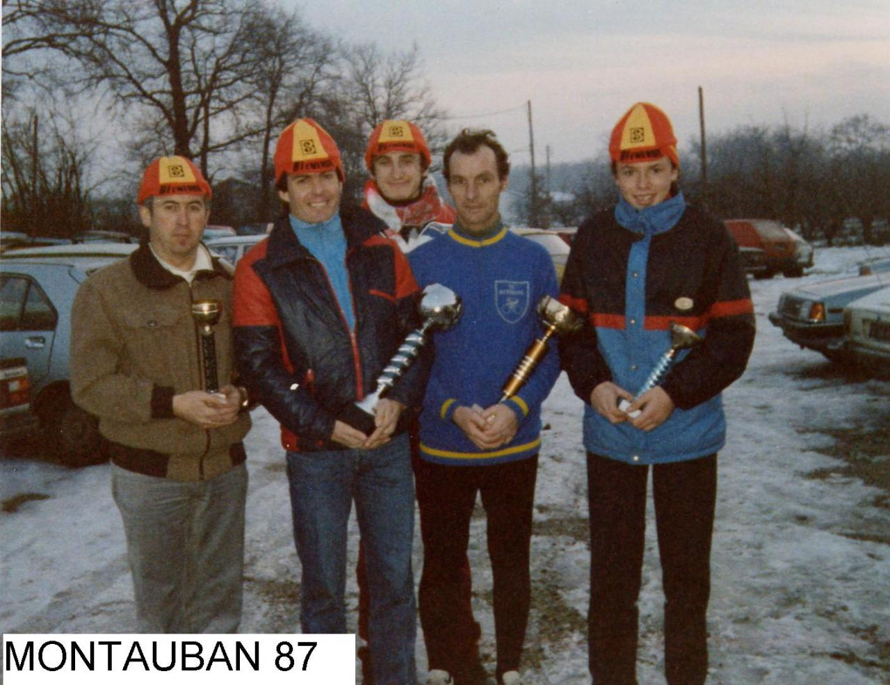 REGIONAL CYCLO CROSS 1987