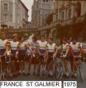 FRANCE ROUTE MINIMES ST GALMIER 75