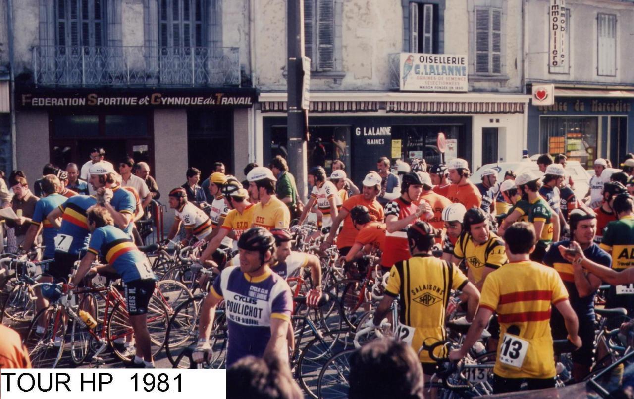 TOUR  HAUTES PYRENEES 1981