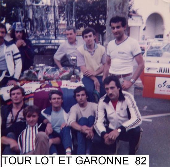 TOUR DU LOT ET GARONNE FSGT 1982