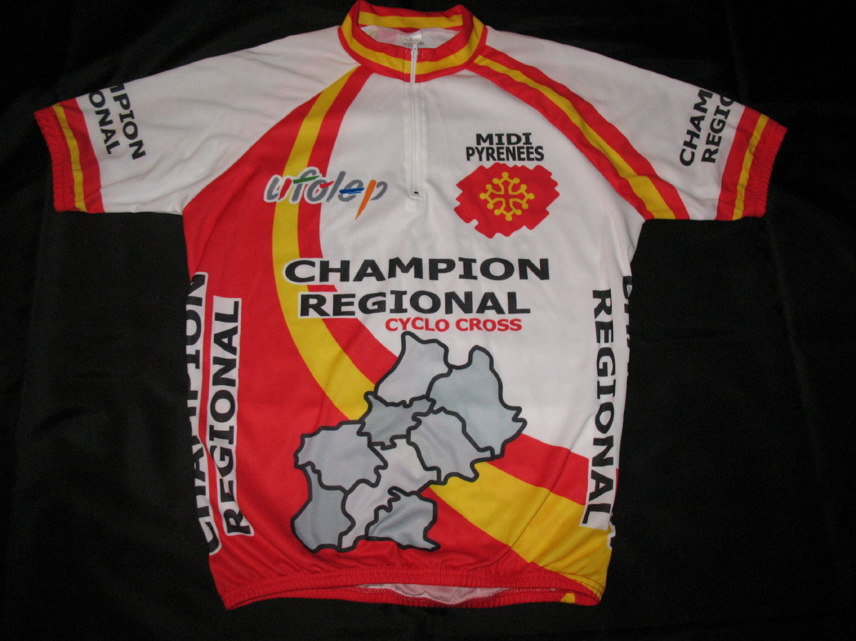 CHAMPION REGIONAL CYCLO CROSS + 50 ANS