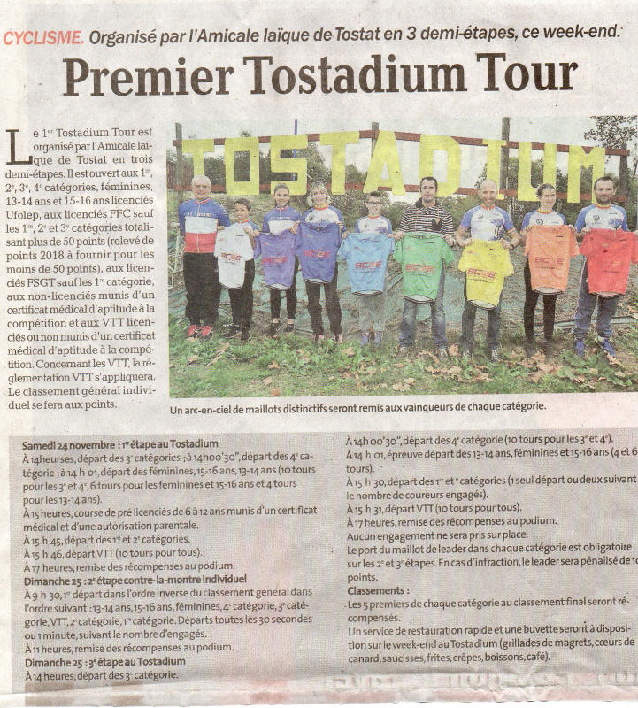 Presentation tostadium tour